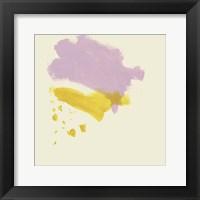 Framed Lemon & Lilac II