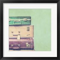 Vintage Office X Framed Print