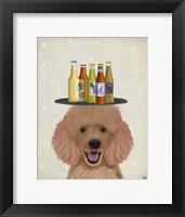 Framed Apricot Beer Lover