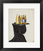 Framed Scottish Terrier Beer Lover