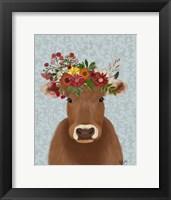 Framed Cow Bohemian 1