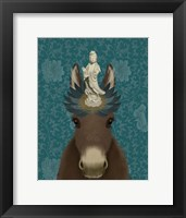 Framed Donkey Bodhisattva