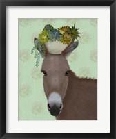 Framed Donkey Succulent
