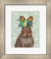 Framed Rabbit Bohemian