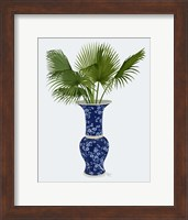 Framed Chinoiserie Vase 8, With Plant