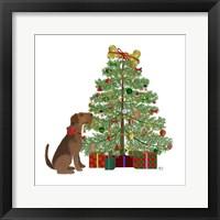 Framed Christmas Des - Bone Tree