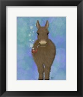 Framed Donkey Bubble Pipe, Full