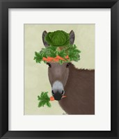 Framed Donkey Carrot Hat