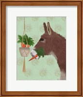 Framed Donkey Lunch