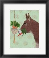 Framed Donkey Lunch