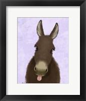 Framed Funny Farm Donkey 1
