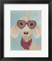Framed Goat Heart Glasses