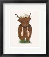 Framed Highland Cow Ballet