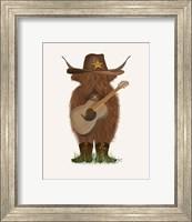 Framed Cow Cowboy