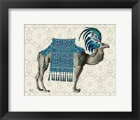 Framed Niraj Camel, Blue