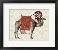 Framed Niraj Camel, Red