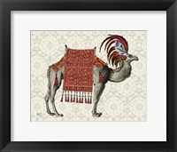 Framed Niraj Camel, Red