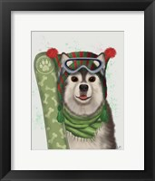 Framed Husky Snowboard