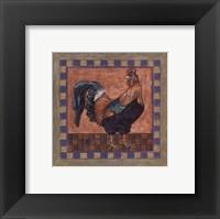 Framed Rooster I
