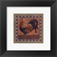 Framed Rooster II