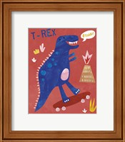 Framed Totally T-Rex