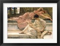 Framed Favourite Poet, 1888