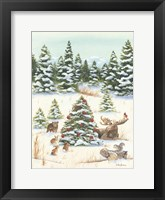 Framed Woodland Friends