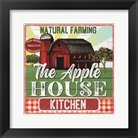 Framed Apple House Kitchen
