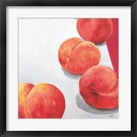 Framed Soft Peaches