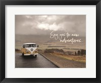 Framed Say Yes to New Adventure