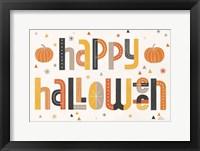 Framed Retro Halloween I