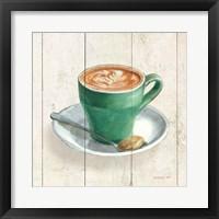 Framed Wake Me Up Coffee II