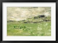 Framed Spring Valley I Green