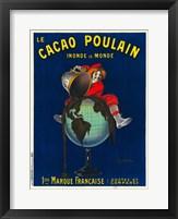 Framed Le Cacao Poulain Inonde le Monde, 1911