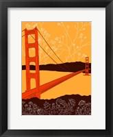 Framed Golden Gate Bridge - Headlands