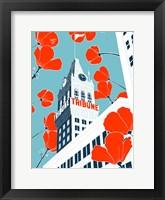 Framed Tribune Tower - Oakland
