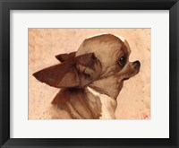 Framed Profile-Chihuahua