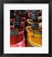 Framed French Market No. 1