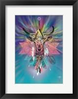 Framed Cosmic Deer