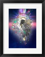 Framed Cosmic Lion Butterfly