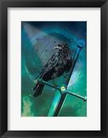 Framed Cosmic Raven