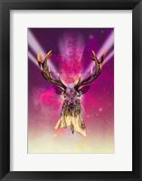 Framed Cosmic Stag