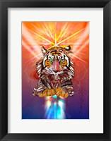 Framed Cosmic Tiger
