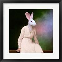 Framed Delicate Lady
