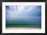 Framed Hazy Day at Sleeping Bear Dunes