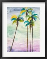 Framed Four Palms No. 2