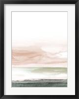 Framed Pink Blush Landscape No. 1