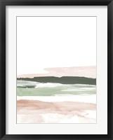 Framed Pink Blush Landscape No. 2
