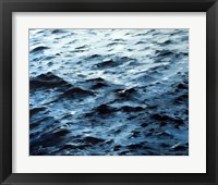Framed Choppy Lake