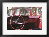 Framed Pontiac GTO Pitstop